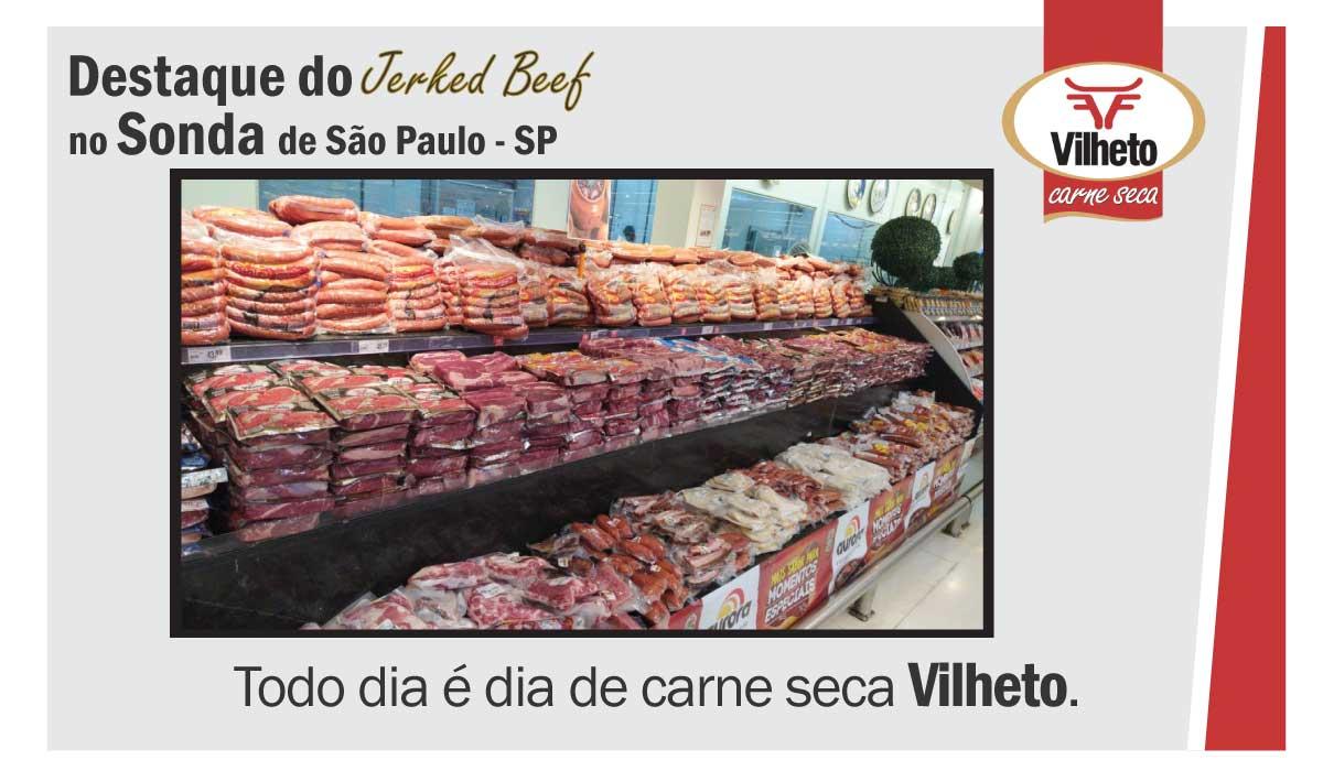 Destaque do Jerked Beef no Sonda de São Paulo SP