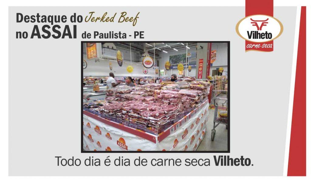 Carne seca no Assai, de Paulista em PE