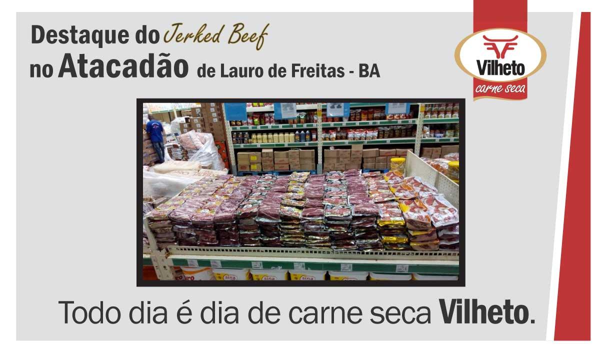 Carne seca no Compre Bem, de Guarulhos em SP