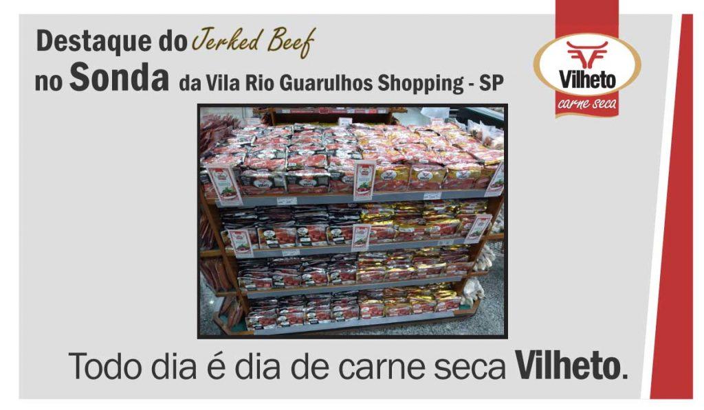Carne seca no Sonda da Vila Rio Guarulhos Shopping, de Guarulhos em SP