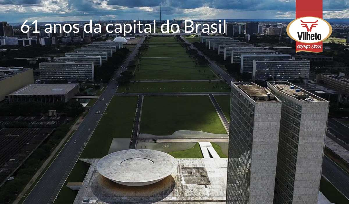 61 anos da capital do Brasil, Brasília!