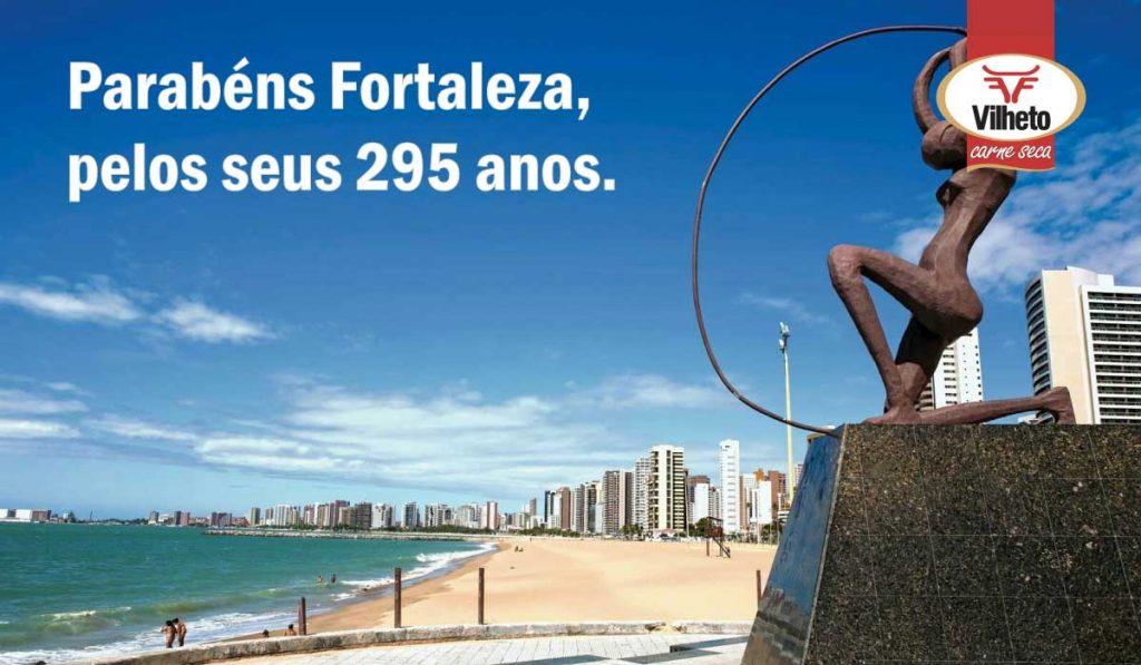 Parabéns Fortaleza, pelos seus 295 anos.