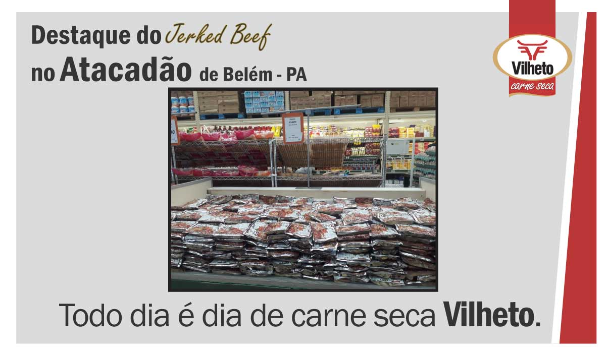 Carne seca Vilheto no Atacadão em Belém – PA