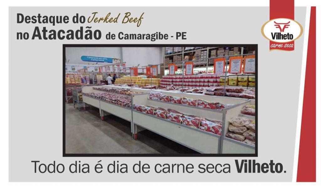 Carne seca Vilheto no Atacadão em Camaragibe – PE