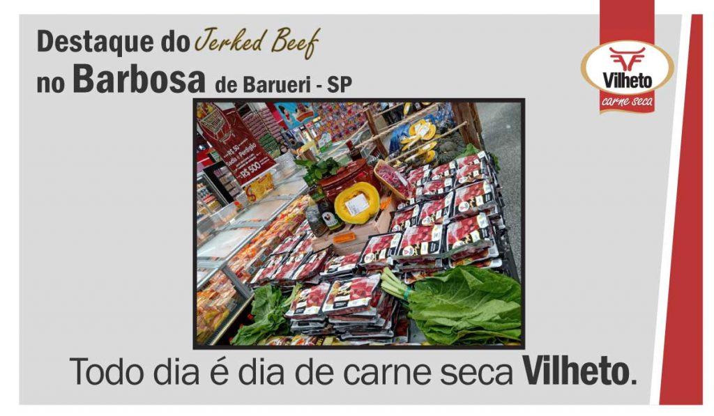 Carne seca Vilheto no Barbosa em Barueri – SP