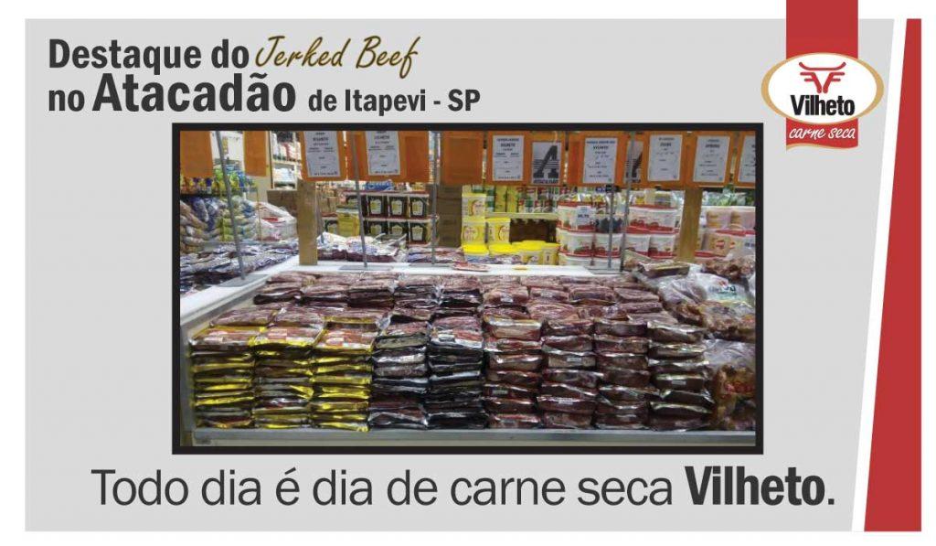 Carne seca Vilheto no Atacadão em Itapevi – SP
