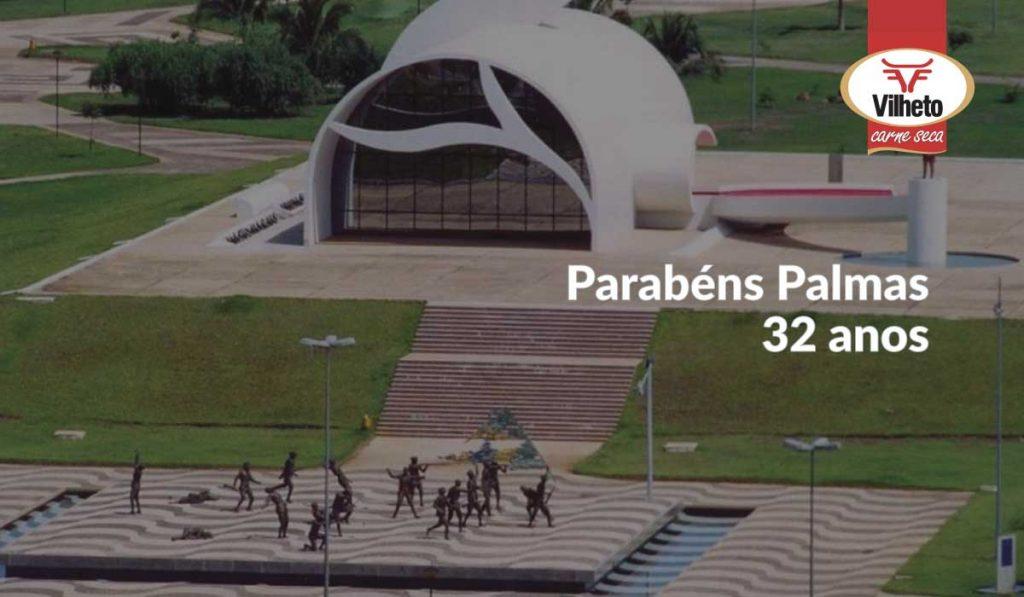 Parabéns Palmas do Tocantins a mais nova capital do Brasil