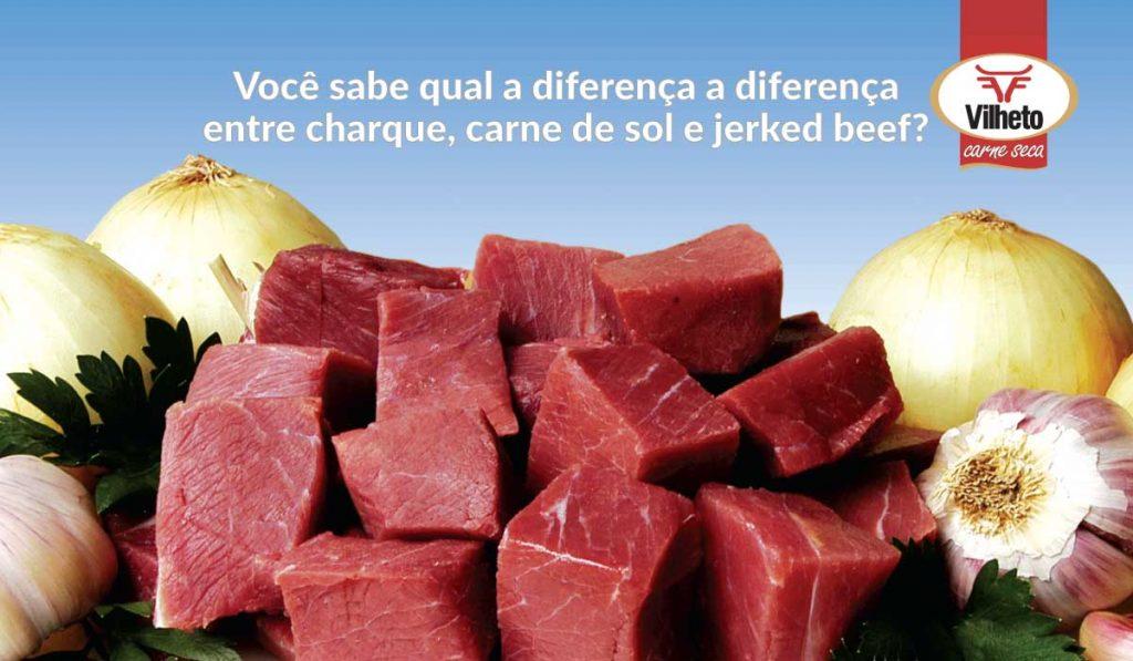 Você sabe qual a diferença a diferença entre charque, carne de sol e jerked beef?