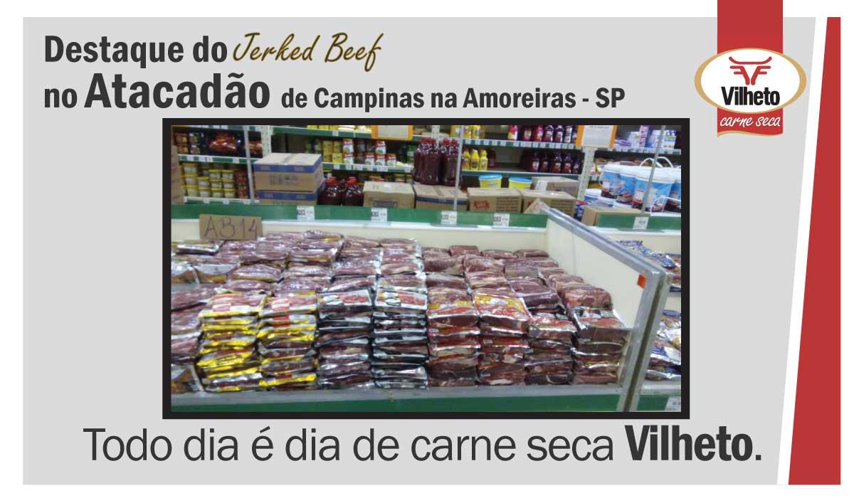 Carne seca Vilheto no Atacadão em Campinas na Amoreiras – SP
