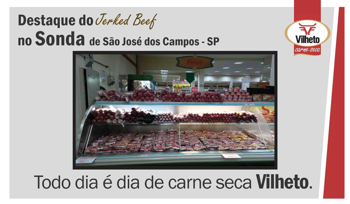 Carne seca Vilheto no Sonda em São José dos Campos – SP