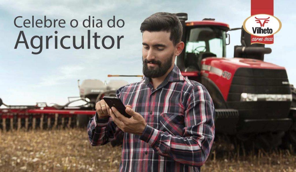 Celebre o dia do Agricultor