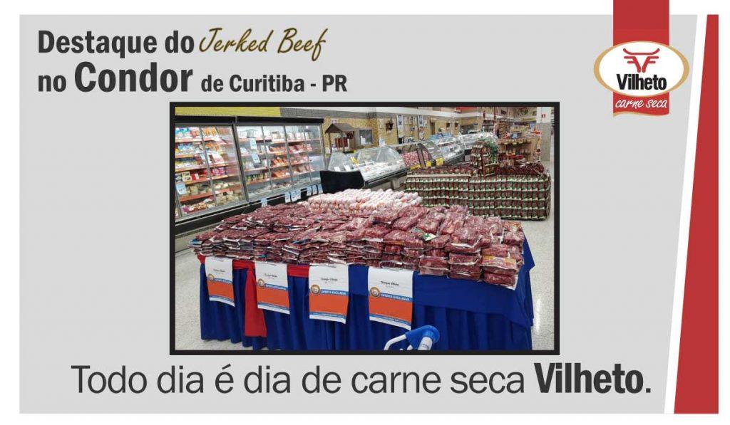 Carne seca Vilheto no Condor em Curitiba – PR