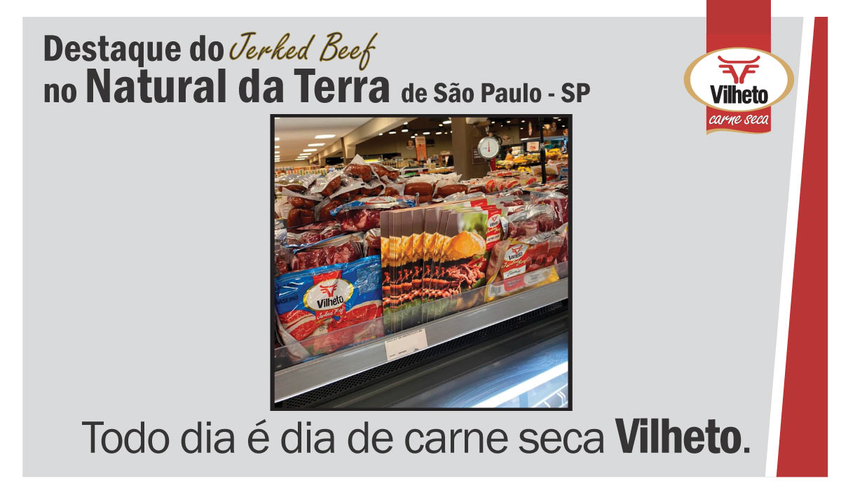 Carne seca Vilheto no Natural da Terra em São Paulo – SP