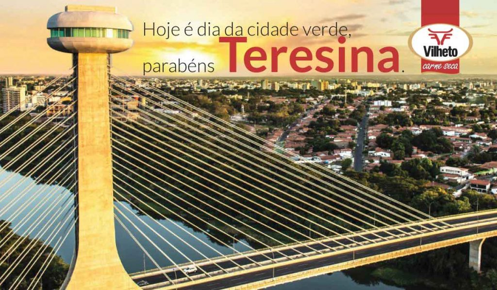 je é dia da cidade verde, parabéns Teresina.
