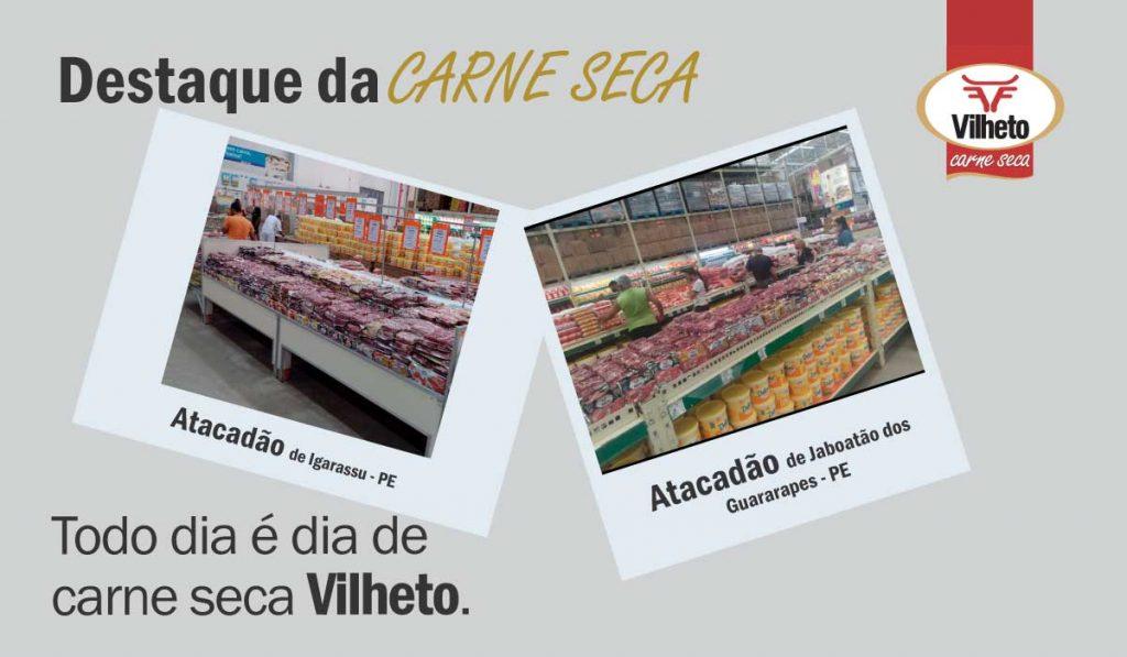 Carne seca Vilheto no Atacadão em Igarassu e Jaboatão dos Guararapes no Pernambuco