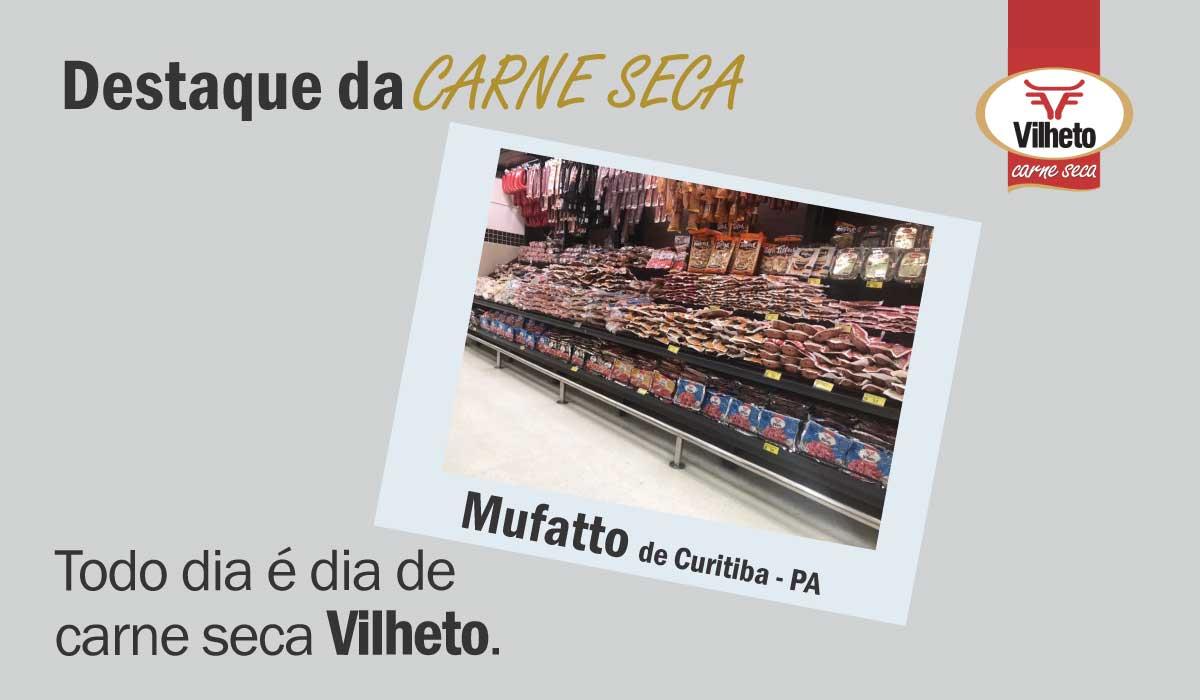 Carne seca Vilheto no Mufatto em Curitiba no Paraná