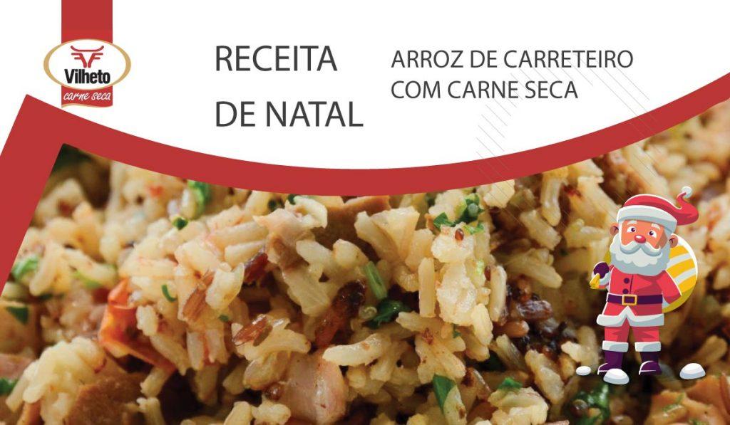 Receita de Natal - Arroz de Carreteiro com Carne Seca